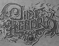 Jimi Hendrix Lettering