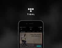 TIDAL App UI/UX