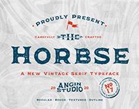 Horbse Vintage Serif Font   FREE COMMERCIAL FONT