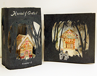 Hansel and Gretel (Candy box + Greeting Card Design)