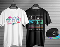 Electric Zoo - Merchandise Re designed