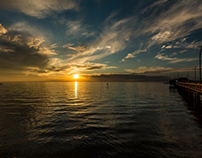 Fairhope Pier Sunset 01-20-18