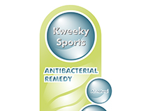 Label Design for an antibacterial product