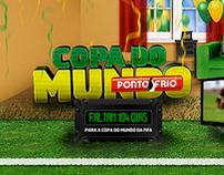 Hotsite Copa do Mundo 2010, Ponto Frio