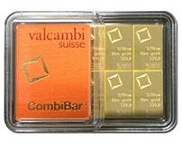 Valcambi CombiBar - 1 Oz Gold Bars
