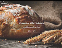 Bakery web design