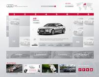 Audi.com Redesign