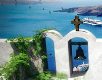 Santorini's inspiration
