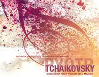 Tchaikovsky Violin Concerto Poster