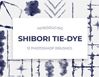 Shibori Photoshop Brushes - Digital Tie-Dye