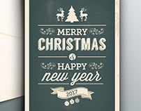 Christmas & New Years Card