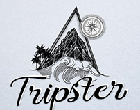 Création logo ecommerce Tripster, Graphiste Loolye