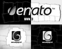 Black & White Paper Logo Revealer
