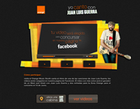 Yo canto con JLG - Orange Facebook APP