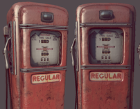 Gas Pump Game Asset