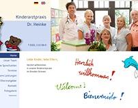 Kinderarztpraxis Website