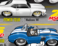 2015 Power Tour Magnets