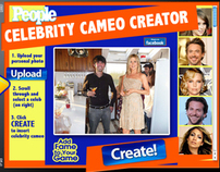 People Magazine's Celebrity Cameo Creator iPad App