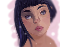 Girl: Digital Painting