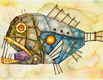 Mechanical fish 1