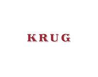 Krug champagne. Logo design.