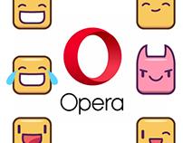 OPERA emoji design