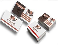 Business Card College of Education Kharj