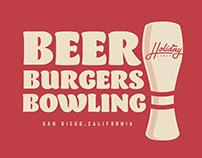 Bowling Alley Branding