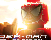 Spider-Man - Animated LEGO gifs.