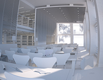 Library interior - work in progress