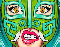 Luchadora Azteca