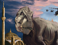 t-rex in ortakoy
