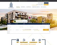 Real Estates design concept