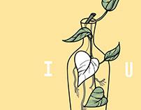 'Julieta Love' Digital Illustration
