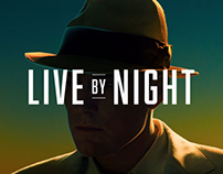 Live By Night | Social Media Graphics