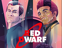 Red Dwarf XII Poster