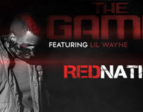 Banner designed for The Game Promoting his 1st Single