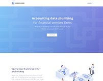 Landing page of Common Ledger