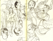 ICON 7 Sketchbook
