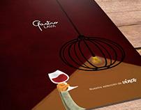 Diseño de carta de vinos Restaurante GastroLAVA