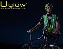 U-ROAD safety jacket / ULTIMATE VISIBILITY for CYCLING