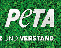 PETA - Stickerdesign
