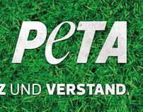 PETA - Stickerdesign