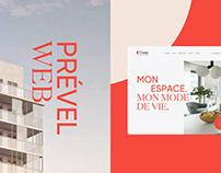 Prével — Site Web