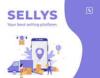 WEB-DESIGN FOR SELLING PLATFORM - SELLYS