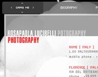 Rosysite,  photographer portfolio - 2007
