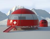Abrigo para grupos de resgate