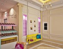 Sugaholic Cup cake shop interior