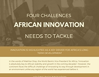 Four Challenges African Innovation Needs to Tackle