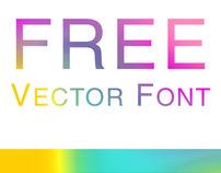 FREE VECTOR FONT